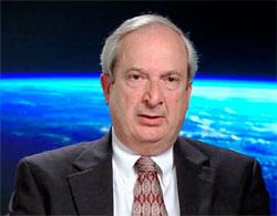 Nick Johnson har ansvar for romskrap i NASA