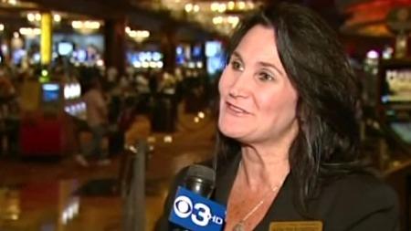 SPENT SJEF: Sjef for kampanjen, Kathleen McSweeney, mente markedsføringen for kasinoet trengte en ansiktsløftning. (Foto: CBS News)