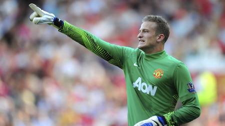 Anders Lindegaard, Manchester United (Foto: Adam Davy/Pa Photos)