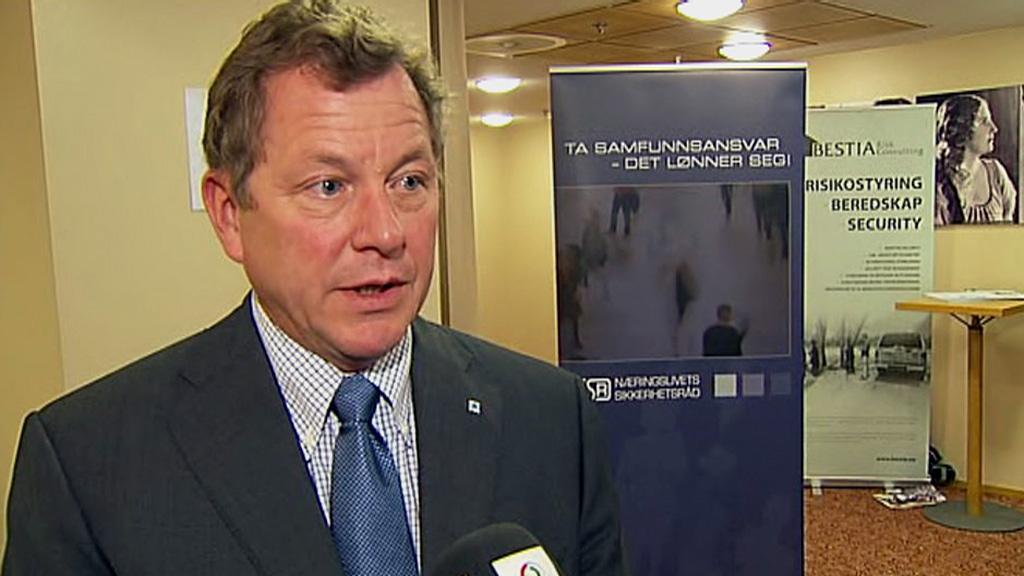 SLUTTER: John G. Bernander har sagt opp jobben som administrerende  direktør i NHO etter å ha vært i stillingen siden 2009. (Foto: TV 2)