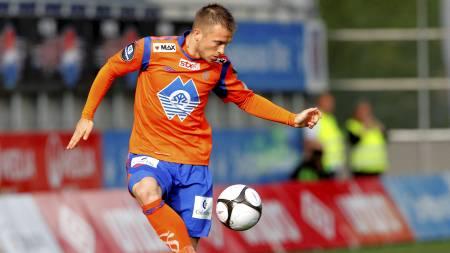 Enar Jääger ønsker ikke å forlenge kontrakten med cupmester Aalesund. (Foto: Ekornesvåg, Svein Ove/Scanpix)