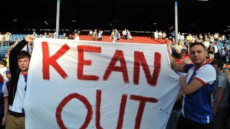 Steve Kean er ingen populær mann hos Blackburnfansen