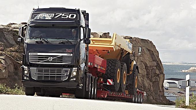 Volvos største setter ny rekord med 750 hestekrefter når den nye versjonen settes i produksjon over nyttår. Foto: Volvo