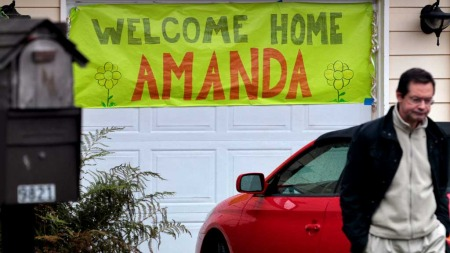Amanda Knox (Foto: AFP)