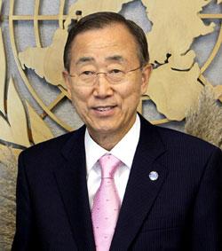 Ban Ki-moon (Foto: AP)
