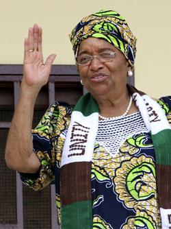 Ellen Johnson-Sirleaf  (Foto: Reuters)