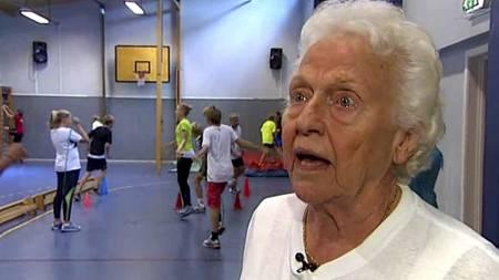 ILDSJEL: Reidun Bye Nystrøm brenner for kroppsøvingsfaget. (Foto: Frode Sunde/)