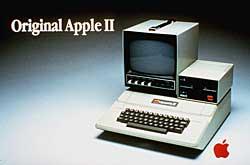 Annonsen for Apple II i 1977.