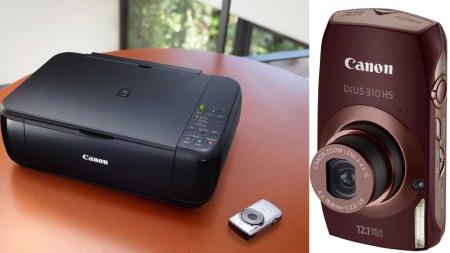 Ukens premie: Canon Pixma MP280 Multifunksjonsprinter og Canon IXUS 380 HS kompaktkamera.