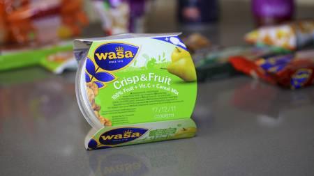 Wasa crisp and fruit (Foto: Frode Sunde/TV 2/)