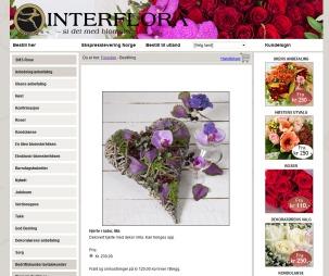 blomsterhjerte2 (Foto: Faksimile   Interflora.no)