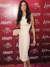 Demi Moore veldig tynn (Foto: Jordan Strauss, ©js)
