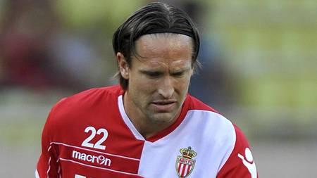 Thorstein Helstad har fått svært lite spilletid for Monaco denne sesongen.  (Foto: Neal Simpson/Pa Photos)