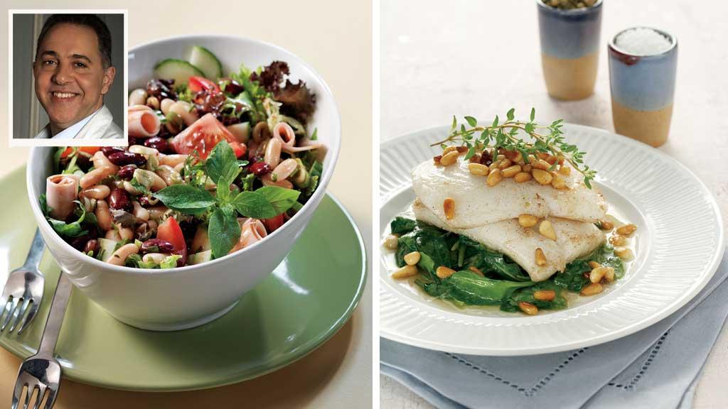 """Fedon Lindberg har kommet med ny kokebok """"Mat for livet"""". Her får du to av oppskriftene."""