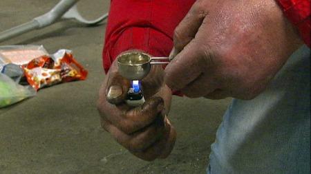 Heroinister i Oslo merker ikke noe til at det skal være mindre av stoffet i omsetning. (Foto: TV 2)