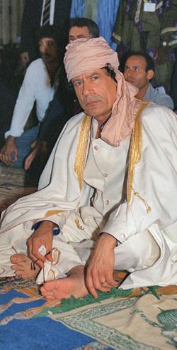 gaddafi 1989 (Foto: AFP)
