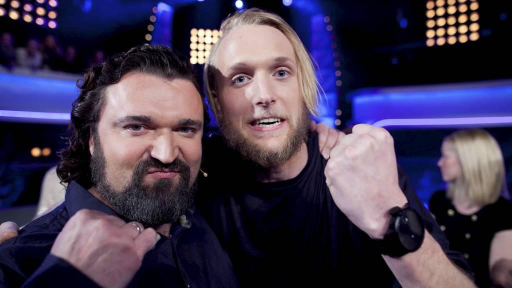 Hans Erik og Fredrik. (Foto: Thomas Reisæter/TV 2/)