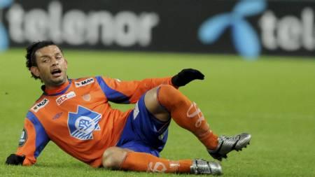 IKKE ALVORLIG: Michael Barrantes pådro seg en skade mot Vålerenga, men er klar for spill i løpet av kort tid. (Foto: Alley, Ned/Scanpix)