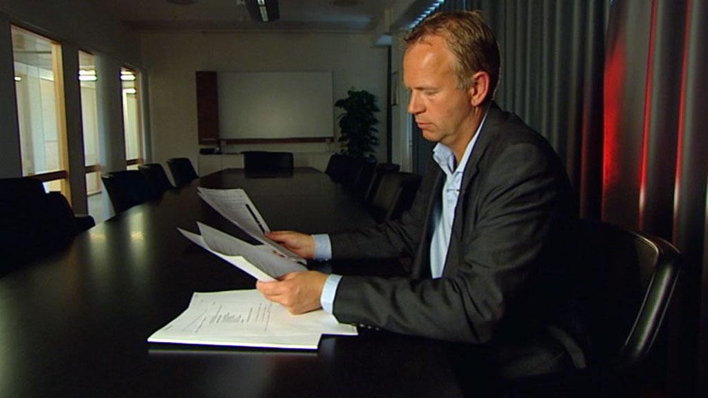 SVART ARBEID: ¿ Det er helt opplagt at en del av disse er svart arbeid, sier Øyvind Strømme, direktør i Skattedirektoratet om polakker som ikke betaler skatt. (Arkivfoto) (Foto: TV 2)