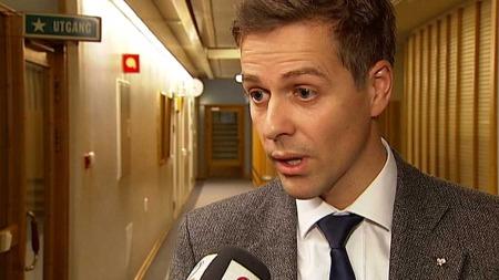 VANTRO: Knut Arild Hareide.   (Foto: TV 2)
