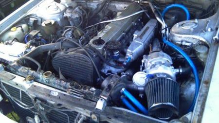 Motoren har skjært seg, men en ny er allerede klar - som er både trimmet og fortsterket. Så da er det jo ikke noe problem...