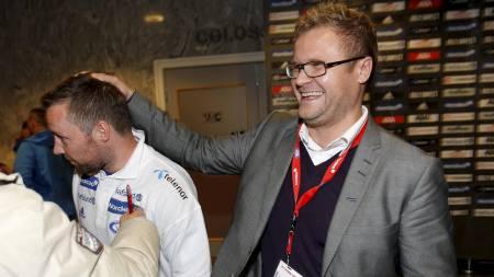 Veigar Pall Gunnarsson og Truls Haakonsen (Foto: Kallestad, Gorm/Scanpix)