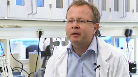 LEDER STUDIEN: Professor og overlege Torbjørn Omland som leder studien ved Akershus Universitetssykehus.  (Foto: Sverre Saabye)