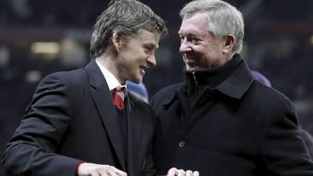 ERSTATTER FERGIE? Ole Gunnar Solskjær nevnes igjen som aktuell for trenerjobb i Manchester United. (Foto: Jon Super/Ap)