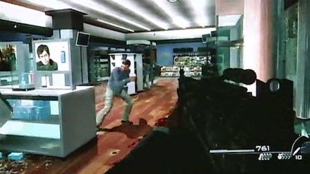 ANMELDT: «Call of duty modern warfare 2» er tidenes nest mest kjøpte TV-spill. I spillet går man rundt og skyter sivile. Mandag ble spillet anmeldt. (Foto: «Call of duty modern warfare 2»)