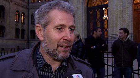 VIL HA MER POLITI: Leder i Politiets Fellesforbund, Arne Johannessen, er i tvil om han har motivasjonen som trengs for å fortsette som profilert fagforeningsleder. (Foto: TV 2)
