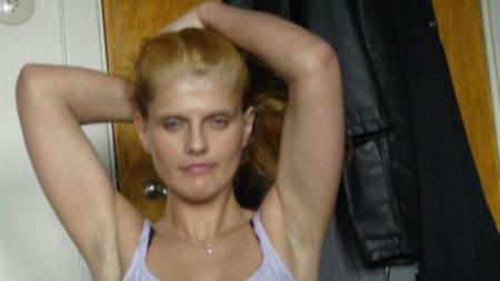 Heidi Hansen fra oktober 2007. To måneder før hun legger seg frivillig inn på institusjon for avrusning. (Foto: Privat)