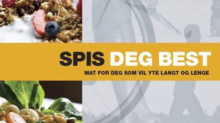 Ny bok for de som trener langdistanse, Spis deg best. (Foto: Dinamo Forlag/)