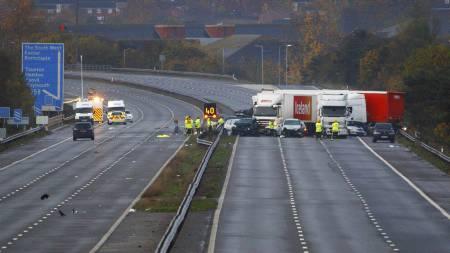 bilulykke_UK (Foto: Chris Ison/Pa Photos)