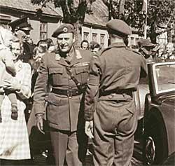 Kronprins Olav besøker Trøndelag i juni 1945. (Foto: Flickr/Creative   Commons)