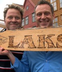 NY DUO: Arne Hjeltnes er klar med nytt programm sammen med Heine Totland. «Det norske måltid» på TV 2.