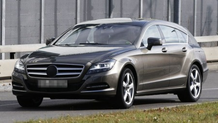 Mercedes-CLS-skr-forfra (Foto: Scoopy)