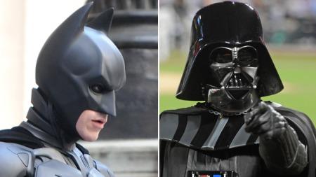 HVA BLIR DET NESTE? Kommer Cech snart i et herlig Batman-kostyme, eller vil han skremme motstanderne som Darth Vader.