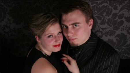 Line Angell Forkner (30) og Kris Even Angell Forkner (30) gifter seg i på den