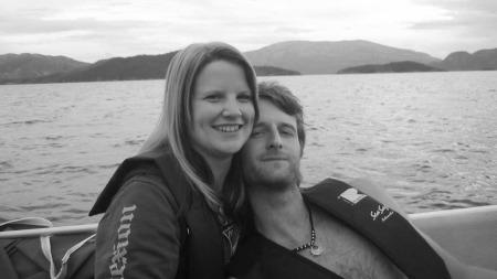 Monica Dahl Rasmussen (29) og Geir Dahl Rasmussen (30) møttes for seks år siden, og 11.11.11 blir de mann og kone.
