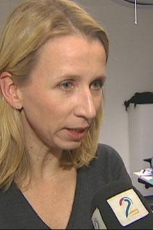 MANGE SAKER: Statssekretær Astri Aas-Hansen (Ap) innrømmer at sakene hoper seg opp og at kapasiteten er for lav.  (Foto: TV 2 )