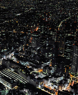 Stor-Tokyo strekker seg over 13 tusen kvadratkilometer, og er hjem for over 36 millioner innbyggere. (Foto: Ap)
