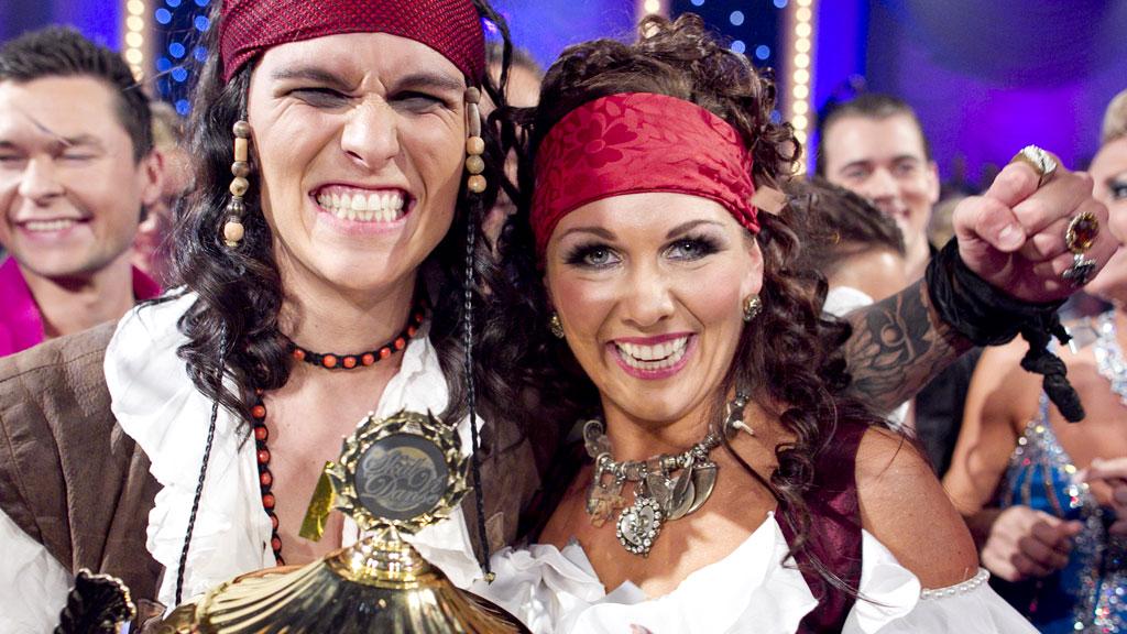 Vinnerne av «Skal vi danse 2011»! (Foto: Thomas Reisæter)