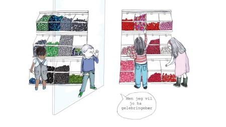 Fra boken «Gi barna 100 muligheter i stedet for 2» (Foto: Illustrasjon)