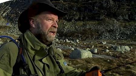 PÅ JAKT: - Rypejakt er både intervalltrening og mendetrening, forteller Ole Johannes Øvretveit. (Foto: Jan Eivind Bertelsen/TV 2/)