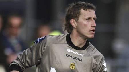 Bodø/Glimt-keeper Pavel Londak. (Foto: Eeg, Jon/SCANPIX)