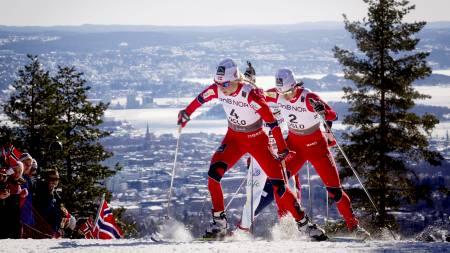 2010/11 ble en jubelsesong for det norske kvinnelandslaget i langrenn. Her fra VM i Holmenkollen. (Foto: Lien, Kyrre/Scanpix)