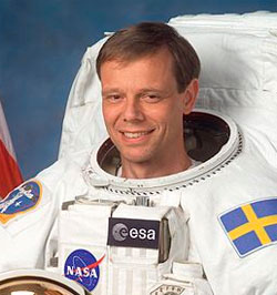 Christer Fuglesang (Foto: ESA / NASA)