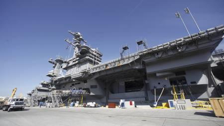 the USS Carl Vinson (Foto: Lenny Ignelzi/Ap)