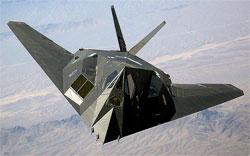 F117 er usynlig for radar (Foto: Wikipedia)