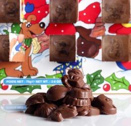 Denne kalenderen er det nok mange som kjenner igjen. Og det er nok flere som har opplevd at alle sjokoladene har blitt spist opp allerede de første dagene i desember. (Foto: illustrasjonsfoto)